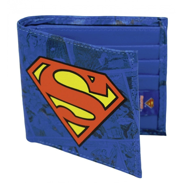 Superman Bi-Folding Boxed Wallet