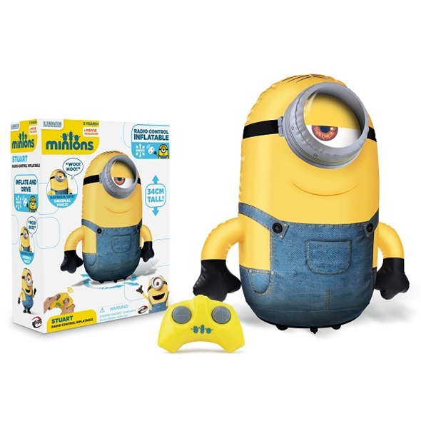 Mini Talking Minion: Inflatable Stuart RC Toy