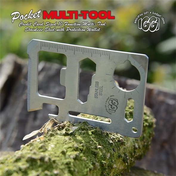 Credit Card Multi-Tool: Miniature Tool Kit