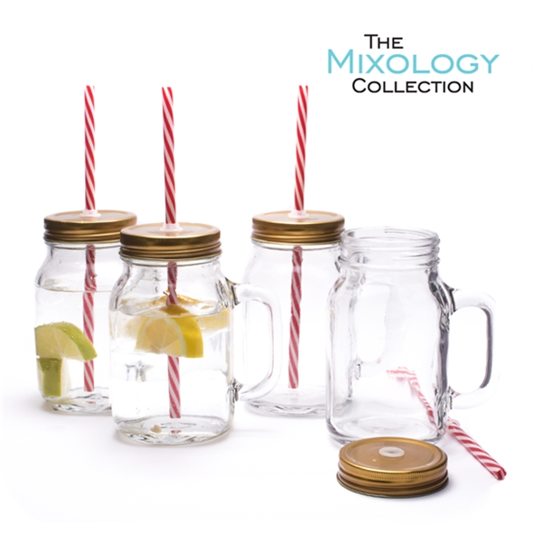 Mason Pint Jar (Set of 4)
