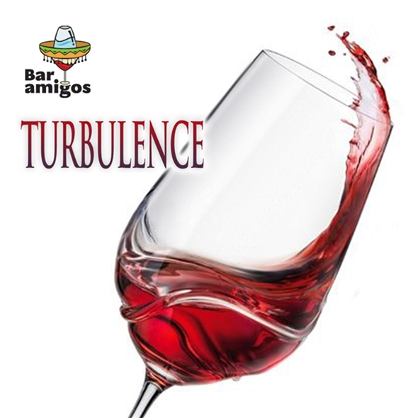Turbulence Wine Glasses (550ml, 2 Pack)